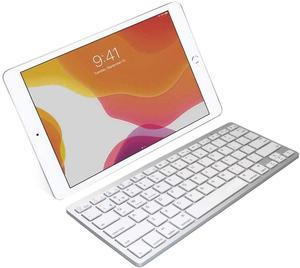 Image 2 - Ultra Slim Wireless Keyboard for Desktop Laptop Tabelt and For Apple iPad iPhone MacBook Android Windows PC Bluetooth Keyboard
