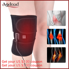 AGDOAD Arthritis Knee Support Brace Infrared Heating Therapy Kneepad for Relieve Joint Pain Rehabilitation Dropshippin