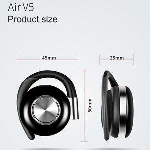 V5 TWS Bluetooth наушники Беспроводные спортивные наушники настоящие беспроводные, зеркально-симметричные ушные крючки с микрофоном