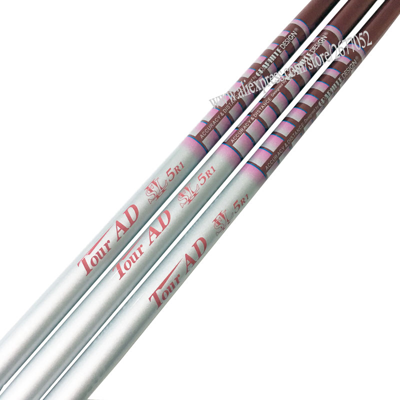 Woman New  Clubs Shaft Tour AD SL 5R1 Golf Shaft 8pcs/lot Driver Wood Graphite  L Flex Golf Shaft Free Shipping