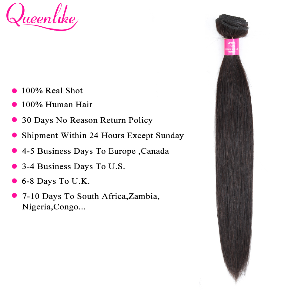 Image 3 - 7x7 Lace Closure With Human Hair Bundles Queenlike Non Remy Weaving Big Lace 3 4 Brazilian Straight Hair Bundles With Closure-in 3/4 Bundles with Closure from Hair Extensions & Wigs
