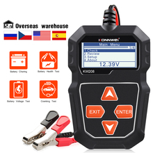KONNWEI – testeur numérique de batterie de voiture KW208, outil de Test du système de charge 12V, moteur, testeur de capacité de batterie automobile testeur batterie voiture testeur batterie