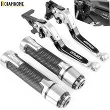 Manija palanca de embrague de freno ajustable, manija palanca de mano, para Honda CBF600 SA ABS 2006 2007 CBF 600 2010 2011 2012 2013