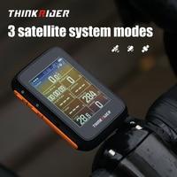 ThinkRider BC200 GPS Smart Bike Computer ANT+ BLE Powermeter Support LCD Display IPX7 Waterproof  Stopwatch 2.4Inch Digit