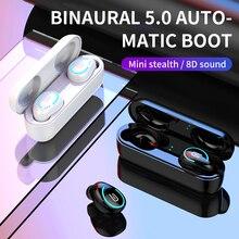 2019 el más nuevo I8-TWS Bluetooth 5,0 auriculares TWS inalámbrica auriculares estéreo de auriculares de llamada con manos libres deportes Auriculares auriculares envío de la gota