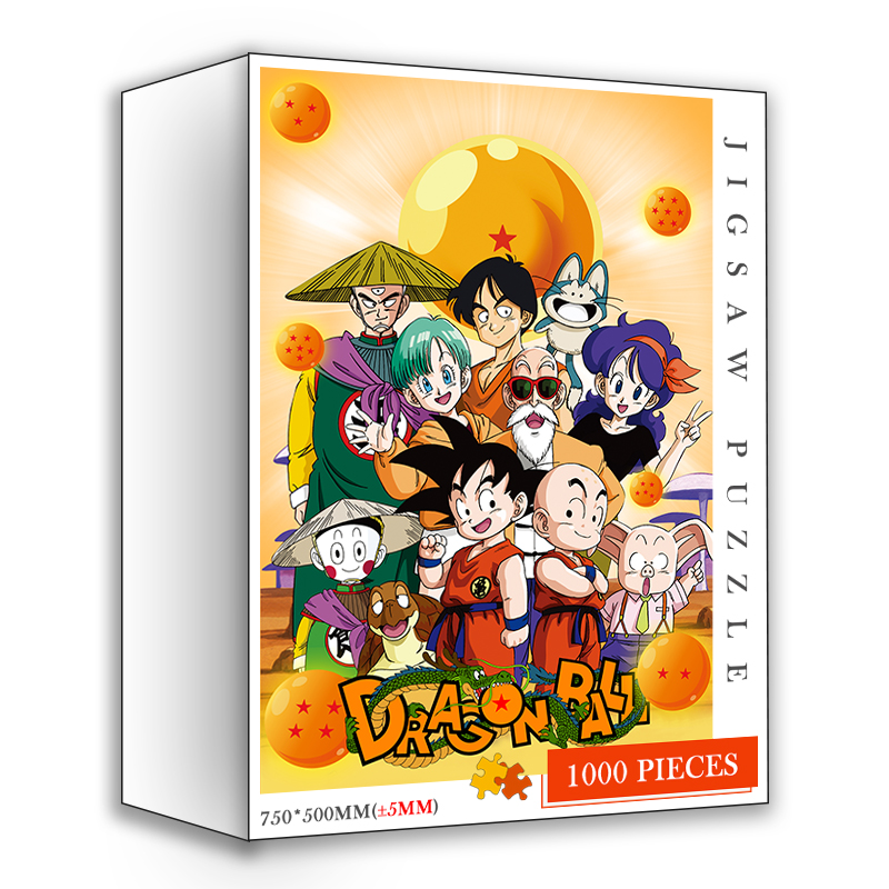 Dragon Customized Ball DIY Jigsaw Puzzles 1000 Pieces Wooden Quality Puzzle Toys Adults Japan Cartoon Anime 1000 Pieces Puzzles 8