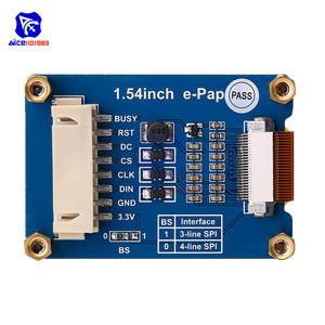 """Image 2 - diymore 1.54"""" e Paper Module 200*200 Electronic Ink Display SPI Interface for Raspberry Pi Arduino STM32"""
