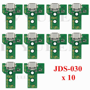 Image 3 - 10 pcs JDS 055 040 030 011 USB Charging Port Socket Board For Sony PlayStation 4 PS4 DS4 Pro Slim Controller Charger PCB Board