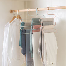 Многофункциональная стойка для хранения штанов из кованого железа