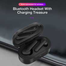 цена на Bluetooth Earphone With Mic Charging Pods M1 5.0 Air Wireless Headphones Headsets Stereo In-Ear For Xiaomi IPhone Samsung