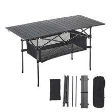 Outdoor Klapptisch Stuhl Camping Aluminium Legierung Picknick Tisch Wasserdichte Durable Klapptisch Schreibtisch Für 140*70*70CM