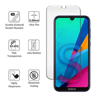 screen film 2Pcs Tempered Glass For Huawei honor 8a 8c 8s 8x Glass Screen Protector On For Huawei y5 2019 honor 8 lite 8 pro Protective Film (3)