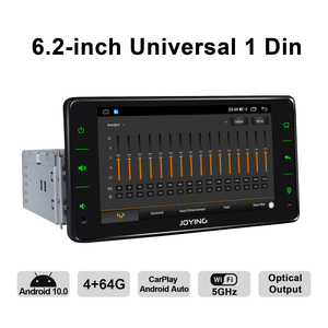 Image 5 - Android 10 head unit car radio 6.2 inch 4GB+64GB support 4G&Carplay&Android auto&Fast Boot audio RDS video GPS Navigation 5G WIF