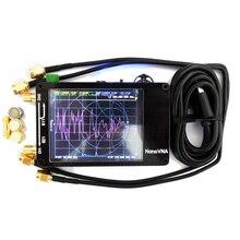 Professional Nano VNA Vector Network Analyzer LCD Digital Handheld Shortwave MF HF VHF UHF Antenna Analyzer Standing Wave