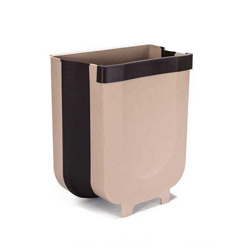 Wall Mounted Folding Trash Can