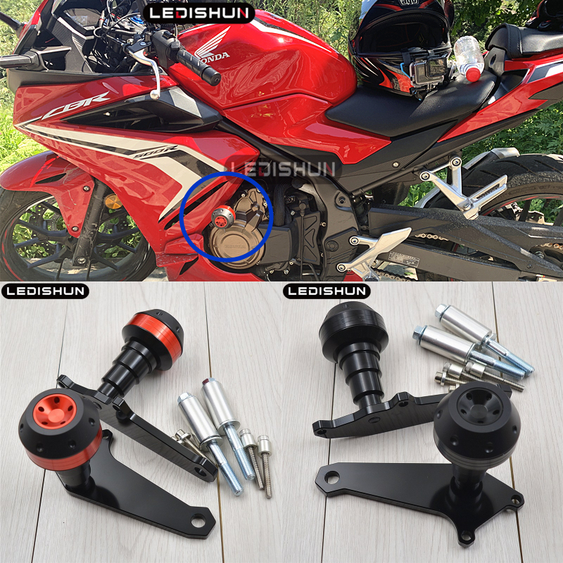 Motorcycle Crash Pad Frame Slider Falling Protection For Honda CBR500R CBR 500R CBR500 R CB500X CB 500 CB500 F 1314151617182019