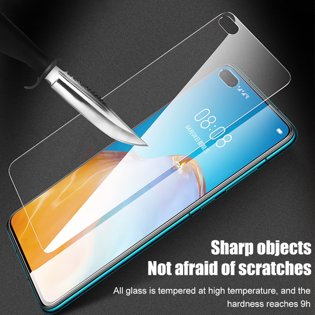 3PCS Full Cover Tempered Glass For Huawei P30 P20 P40 P10 Mate 20 10 Lite Screen Protector On Honor 10i 20 9 Lite P Smart Glass