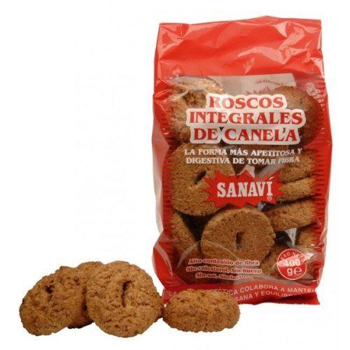 ROSCOS INTEGRALES DE CANELA 400GR SANAVI