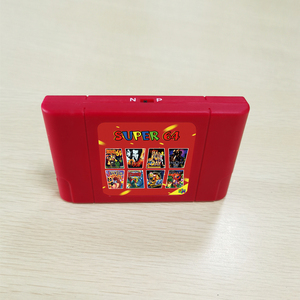 Image 1 - Super 64 Bit Retro 340 in 1 Game Card For N64 Video Game Console Region Free NTSC and PAL Game Cartridge