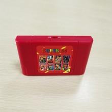 Super 64 Bit Retro 340 w 1 gra karciana dla N64 gra wideo konsoli wolny od regionu NTSC i PAL kartridż z grą