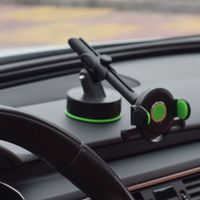 telescopic arm magnet phone stand car instrument table sucker mobile phone frame navigation bracket universal models