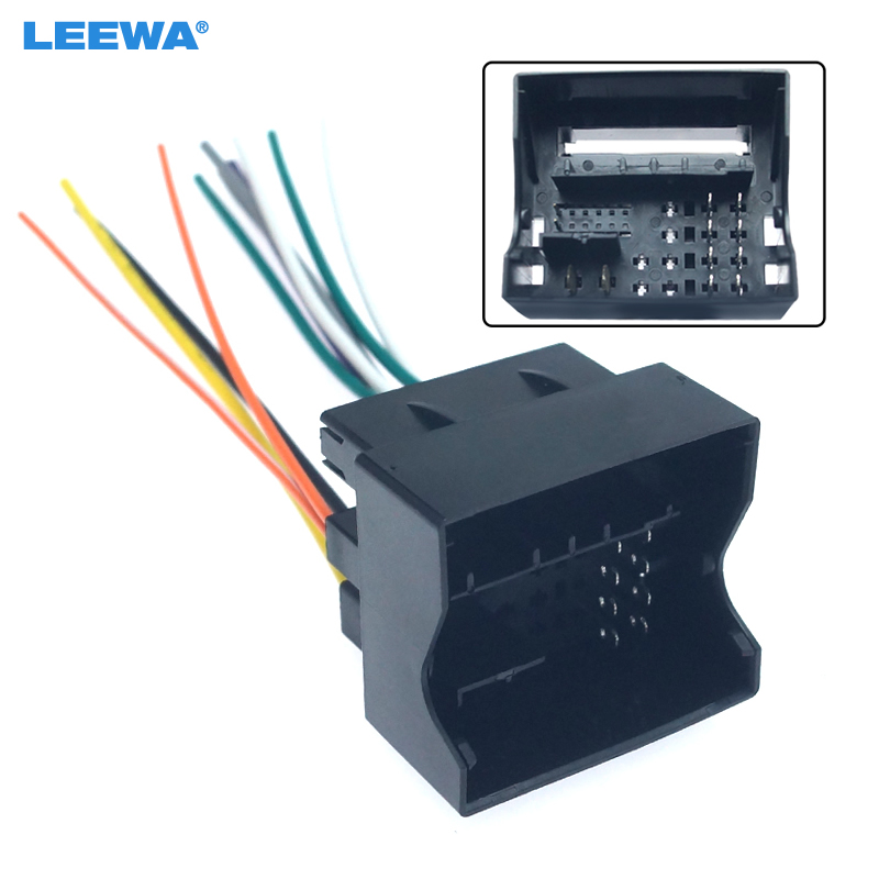 [DIAGRAM_38YU]  LEEWA Car Radio Audio Stereo Interface Wire Harness for Volkswagen Golf 7  Sokda Installing Aftermarket CD/DVD Plug Wire Adapter|Cables, Adapters &  Sockets| - AliExpress | Vw Aftermarket Wiring Harness |  | www.aliexpress.com