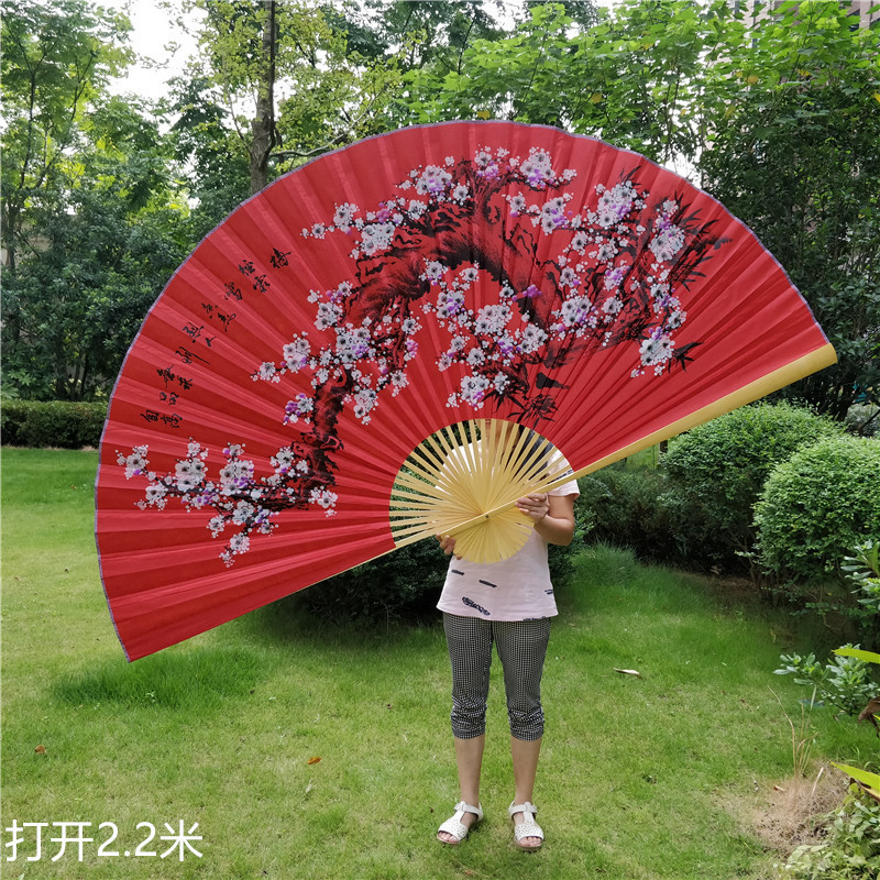 Samuume Decoration Hang Wall Fan In National Customs Wedding Arrangement Chudo Decoration Will Hang Fan
