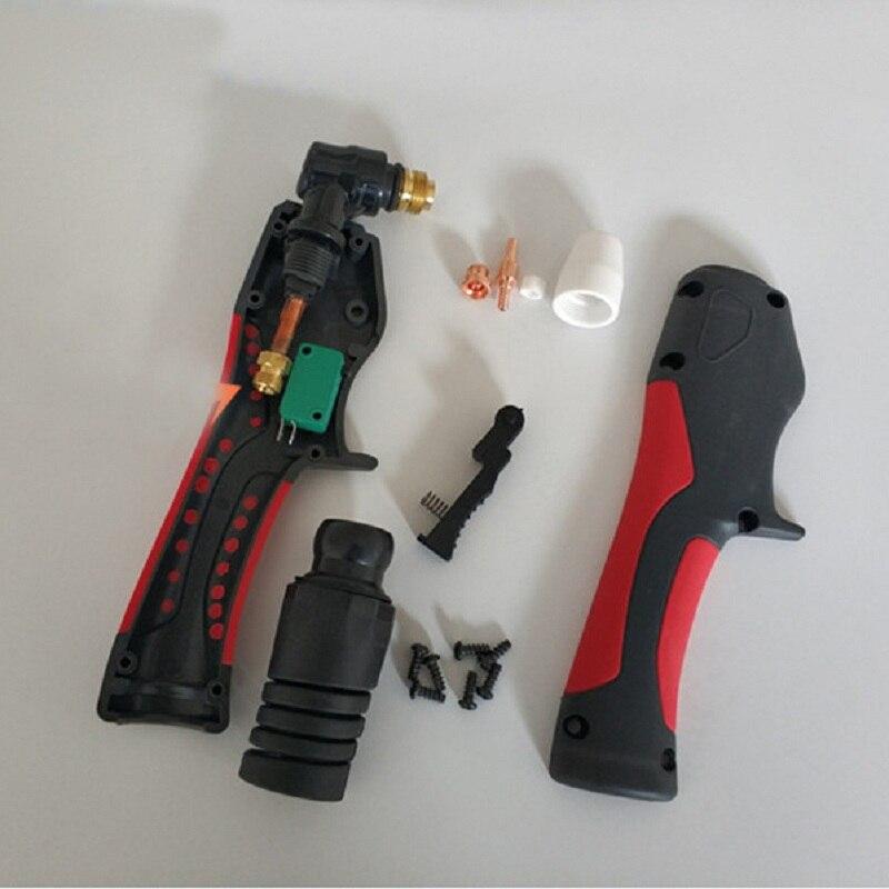PT-31 инвертор плазменный резак пистолет 40A с воздушным охлаждением PT31 плазменный фонарь для резки тела