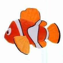 23cm simulação encontrando nemo dory brinquedos de pelúcia recheado animal dory filme bonito palhaço peixe macio boneca miúdo adorável presente de natal anime