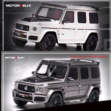 Motorhelix – modèle de voiture 1/64 en résine, BBS 800 SUV Limited Collection 999, nouveau modèle de voiture 1:64