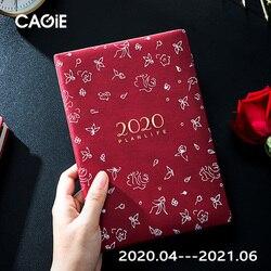 Agenda 2020/2021 Planner Organizer A5 pamiętnik i dziennik tygodniowy miesięczny notatnik wspaniały zeszyt codzienny podręcznik dla dziewcząt