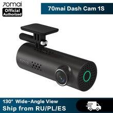 70mai Dash Cam 1S умная Автомобильная DVR камера Wifi приложение Голосовое управление Dashcam 1080P HD ночное видение Автомобильная камера видеорегистратор g сенсор