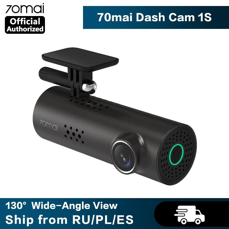 70mai Dash Cam 1S Smart Auto DVR Kamera Wifi APP Voice Control Dashcam 1080P HD Nachtsicht Auto kamera Video Recorder G-sensor
