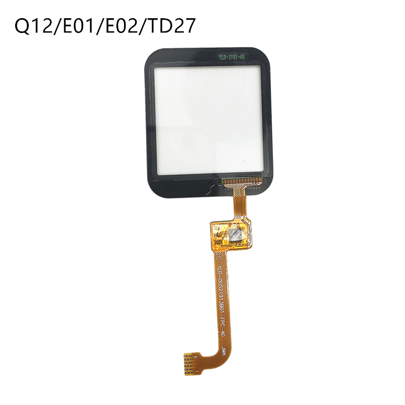 Touch Glass Screen for Q750 Q100 Q12 E01 TD27 Kids Tracker Watch 1.54 inch It requires professional welding for installation