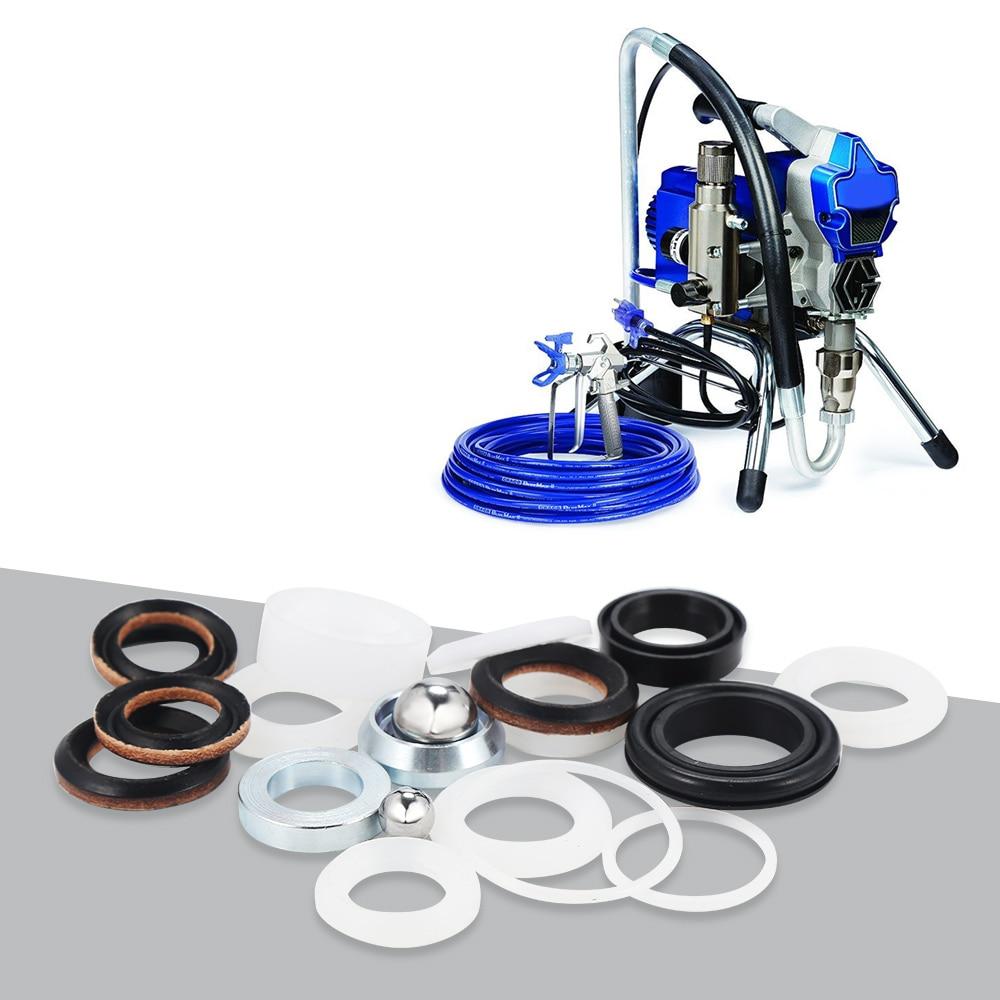 O-Ring Pump Repair Packing Kit For Graco Sprayer 390 395 490 495 595 Aftermarket Pump Repair Packing Kit Repairing Tools