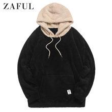 """""""zaful зима искусственный мех пальто с капюшоном на меху"""