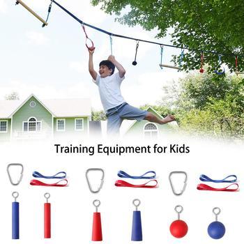 Outdoor wspinaczka sprzęt treningowy Ninja akcesoria linowe dla dzieci ramię akcesoria treningowe DIY wspinaczka dostarcza Dropshipping tanie i dobre opinie MUMIAN