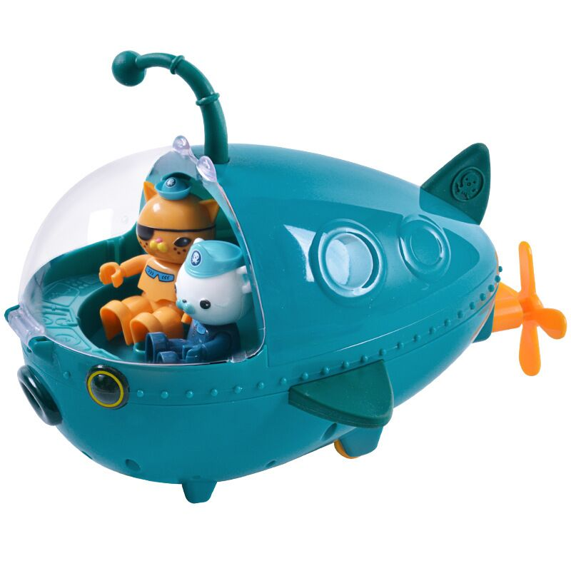 Octonauts Submarine Toy Lantern Fish Boat Figure Model Doll Children's Birthday Gift