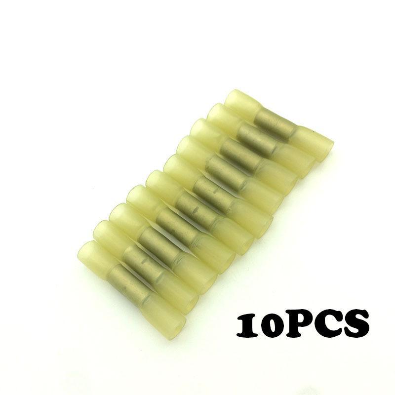 10pcs BHT5 font b Insulated b font cold press terminal font b connector b font heat