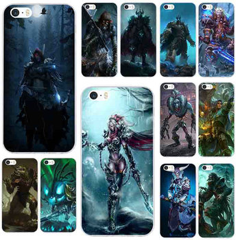 Soft TPU Mobile Phone Cases for iphone 4 4S 5 5S SE 6 6S 7 8 X XR XS Max Plus Shell Cover Games Lich King Stormrage image