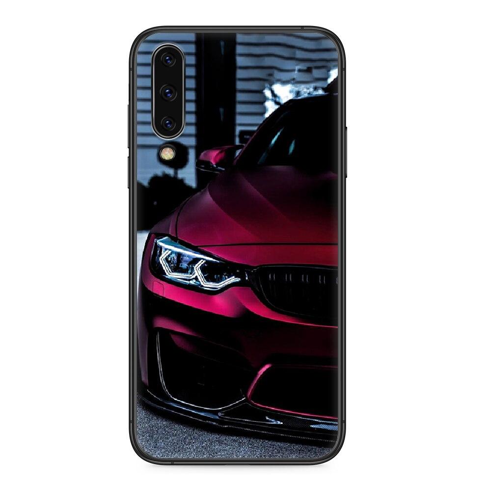 Blu Rosso Auto per Bmw 3 cassa Del Telefono Per Samsung Galaxy UN 5 10 20 30 40 50 51 7 70 71 E S 4G 16 17 18 nero hoesjes di tendenza