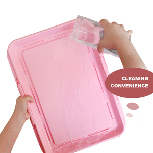 Image 4 - Przenośne szkolenia psów nocnik szczeniak miot kuweta Pad Mat dla psów koty łatwe do czyszczenia produkt dla zwierząt kryty
