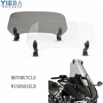 Motocicleta para HONDA CTX 1300 KAWASAKI J 125, 300 KLE500 EN500 Vulcano KLV650 Versys Transalp aumentado parabrisas extender