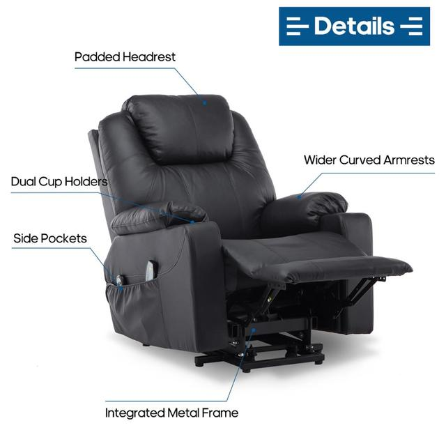 Electric Motorized Massage Chair  5