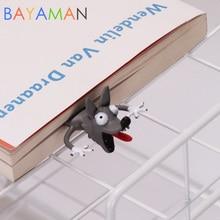 Créer un signet intéressant spécial 3D, papeterie de bureau pour enfants, jouet de bureau pour lecture, cadeau mignon