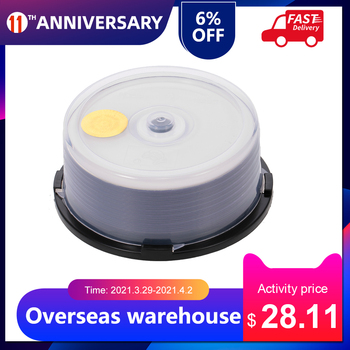 Wholesale 50PCS DVD+R DL 8.5GB  215MIN 8X Blank Disc Customizable DVD Disk For Data & Video recording speeds 50pcs/lot free ship 1