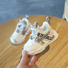 DIMI 2019 Autumn Infant Girl Boy Shoes Breathable Baby Sneakers Fashion Color Matching Soft Bottom Toddler Walkers Shoes