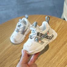 DIMI 2019 الخريف الرضع فتاة الصبي الأحذية تنفس حذاء طفل الأزياء اللون مطابقة لينة أسفل طفل مشوا الأحذية