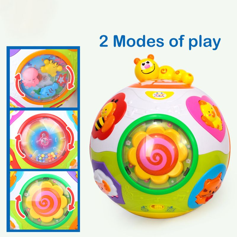 2 Year Old Baby GiftBaby Crawler Music And Animal Early Education Toys NEW