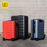 90fun 20/24/28 polegada viagem mala de viagem senha girador roda carry on bagagem caso viagem de negócios bagagem mala viagem viagem